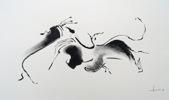 compositie-organische-vorm-40x50cm-1996